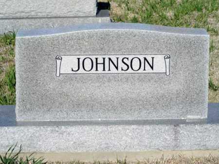JOHNSON, FAMILY - Lincoln County, Nebraska | FAMILY JOHNSON - Nebraska Gravestone Photos