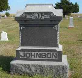 JOHNSON, FAMILY STONE - Lincoln County, Nebraska   FAMILY STONE JOHNSON - Nebraska Gravestone Photos