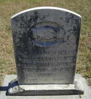 JOHNSON, FLODAINE - Lincoln County, Nebraska | FLODAINE JOHNSON - Nebraska Gravestone Photos
