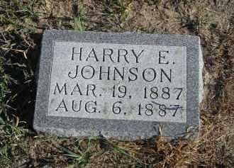 JOHNSON, HARRY F - Lincoln County, Nebraska | HARRY F JOHNSON - Nebraska Gravestone Photos