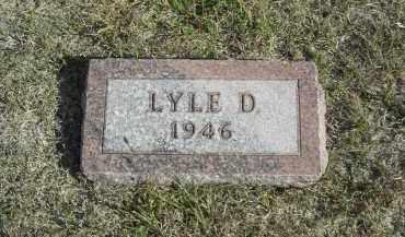 JOHNSON, LYLE D. - Lincoln County, Nebraska | LYLE D. JOHNSON - Nebraska Gravestone Photos