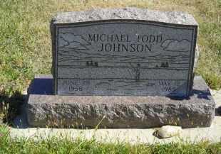 JOHNSON, MICHAEL TODD - Lincoln County, Nebraska | MICHAEL TODD JOHNSON - Nebraska Gravestone Photos