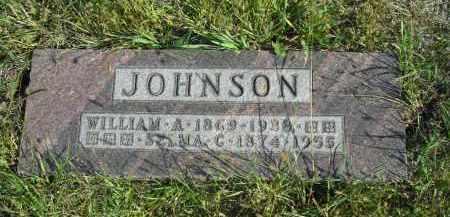 JOHNSON, WILLIAM A. - Lincoln County, Nebraska | WILLIAM A. JOHNSON - Nebraska Gravestone Photos