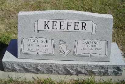 KEEFER, LAWERANCE (BUTCH) - Lincoln County, Nebraska | LAWERANCE (BUTCH) KEEFER - Nebraska Gravestone Photos