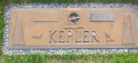 KEPLER, HARLAN W. - Lincoln County, Nebraska | HARLAN W. KEPLER - Nebraska Gravestone Photos