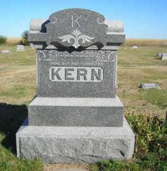 KERN, FAMILY STONE - Lincoln County, Nebraska | FAMILY STONE KERN - Nebraska Gravestone Photos