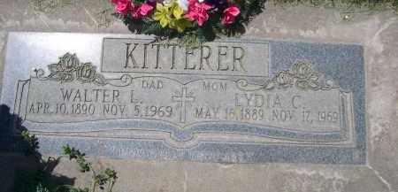 KITTERER, LYDIA C. - Lincoln County, Nebraska | LYDIA C. KITTERER - Nebraska Gravestone Photos
