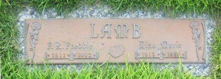 LAMB, NINA MARIE - Lincoln County, Nebraska | NINA MARIE LAMB - Nebraska Gravestone Photos
