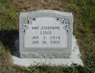 LIND, AMY JOSEPHINE - Lincoln County, Nebraska | AMY JOSEPHINE LIND - Nebraska Gravestone Photos