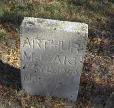 MC CAIG, ARTHUR - Lincoln County, Nebraska | ARTHUR MC CAIG - Nebraska Gravestone Photos