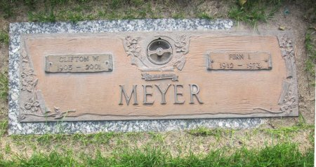 MEYER, CLIFTON W. - Lincoln County, Nebraska | CLIFTON W. MEYER - Nebraska Gravestone Photos