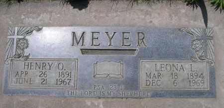 MEYER, HENRY O. - Lincoln County, Nebraska | HENRY O. MEYER - Nebraska Gravestone Photos
