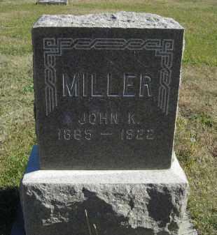MILLER, JOHN K. - Lincoln County, Nebraska | JOHN K. MILLER - Nebraska Gravestone Photos