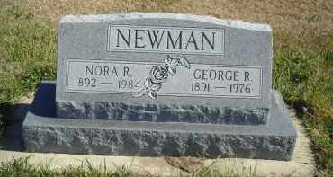 NEWMAN, GEORGE R. - Lincoln County, Nebraska | GEORGE R. NEWMAN - Nebraska Gravestone Photos