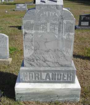 NORLANDER, MARGARET - Lincoln County, Nebraska   MARGARET NORLANDER - Nebraska Gravestone Photos