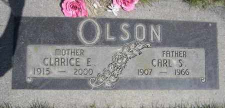 OLSON, CARL S. - Lincoln County, Nebraska | CARL S. OLSON - Nebraska Gravestone Photos