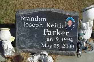 PARKER, BRANDON KEITH PARKER - Lincoln County, Nebraska | BRANDON KEITH PARKER PARKER - Nebraska Gravestone Photos