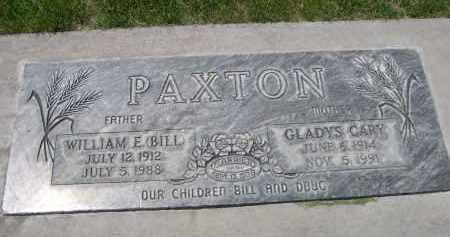 PAXTON, WILLIAM E. (BILL) - Lincoln County, Nebraska   WILLIAM E. (BILL) PAXTON - Nebraska Gravestone Photos