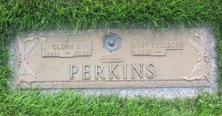 PERKINS, GLENN D. - Lincoln County, Nebraska   GLENN D. PERKINS - Nebraska Gravestone Photos