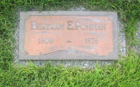 POMPIAN, BERTRAM E. - Lincoln County, Nebraska | BERTRAM E. POMPIAN - Nebraska Gravestone Photos