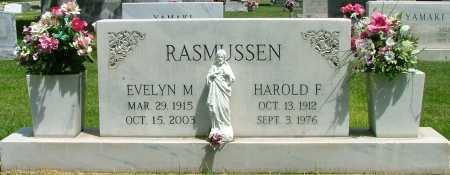 ABEGG RASMUSSEN, EVELYN - Lincoln County, Nebraska | EVELYN ABEGG RASMUSSEN - Nebraska Gravestone Photos