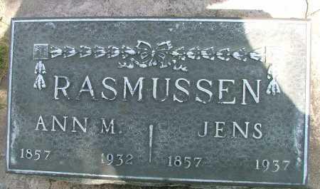 RASMUSSEN, JENS - Lincoln County, Nebraska | JENS RASMUSSEN - Nebraska Gravestone Photos