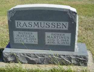 RASMUSSEN, MATILDA - Lincoln County, Nebraska | MATILDA RASMUSSEN - Nebraska Gravestone Photos