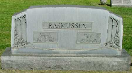 RASMUSSEN, MYRTLE - Lincoln County, Nebraska | MYRTLE RASMUSSEN - Nebraska Gravestone Photos