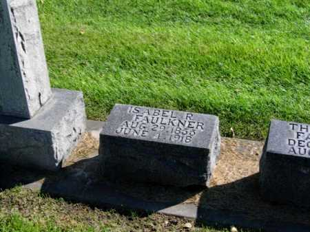 FAULKNER, THOMAS HENRY - Lincoln County, Nebraska | THOMAS HENRY FAULKNER - Nebraska Gravestone Photos