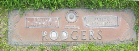 RODGERS, FREEDA - Lincoln County, Nebraska | FREEDA RODGERS - Nebraska Gravestone Photos