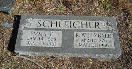 SCHLEICHER, EMMA E. - Lincoln County, Nebraska | EMMA E. SCHLEICHER - Nebraska Gravestone Photos
