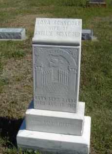 SCHNEIDER, FAMILY STONE - Lincoln County, Nebraska | FAMILY STONE SCHNEIDER - Nebraska Gravestone Photos