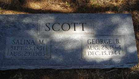 SCOTT, SALINA M. - Lincoln County, Nebraska | SALINA M. SCOTT - Nebraska Gravestone Photos