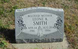 SMITH, LEONE K. - Lincoln County, Nebraska | LEONE K. SMITH - Nebraska Gravestone Photos