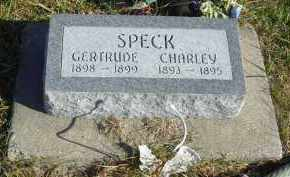 SPECK, CHARLEY - Lincoln County, Nebraska   CHARLEY SPECK - Nebraska Gravestone Photos