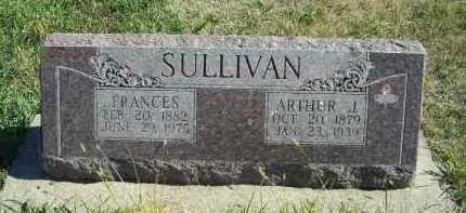 SULLIVAN, ARTHUR J - Lincoln County, Nebraska | ARTHUR J SULLIVAN - Nebraska Gravestone Photos