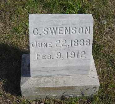 SWENSON, C. - Lincoln County, Nebraska   C. SWENSON - Nebraska Gravestone Photos