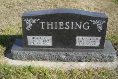 THIESING, DORA C - Lincoln County, Nebraska | DORA C THIESING - Nebraska Gravestone Photos