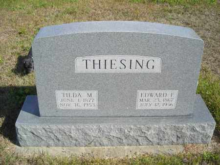 THIESING, TILDA M - Lincoln County, Nebraska | TILDA M THIESING - Nebraska Gravestone Photos