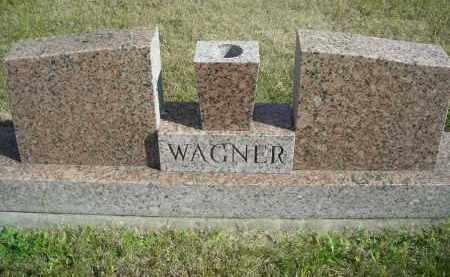 WAGNER, FAMILY STONE - Lincoln County, Nebraska | FAMILY STONE WAGNER - Nebraska Gravestone Photos