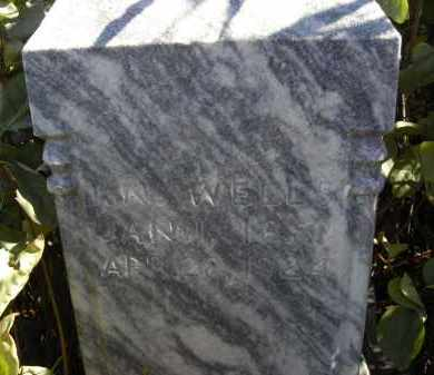 WELLS, PRISSENA - Lincoln County, Nebraska   PRISSENA WELLS - Nebraska Gravestone Photos