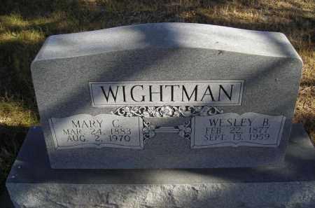 WIGHTMAN, MARY C. - Lincoln County, Nebraska | MARY C. WIGHTMAN - Nebraska Gravestone Photos
