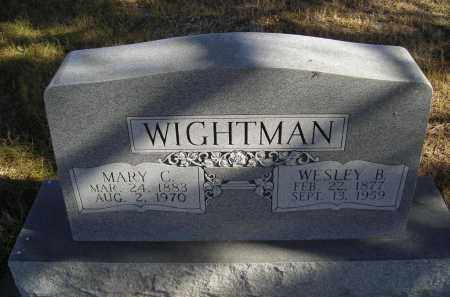 WIGHTMAN, WESLEY B. - Lincoln County, Nebraska | WESLEY B. WIGHTMAN - Nebraska Gravestone Photos