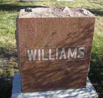 WILLIAMS, FAMILY STONE - Lincoln County, Nebraska | FAMILY STONE WILLIAMS - Nebraska Gravestone Photos