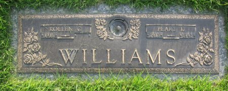 WILLIAMS, ROLLEN G. - Lincoln County, Nebraska   ROLLEN G. WILLIAMS - Nebraska Gravestone Photos