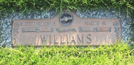 WILLIAMS, ROCCO (ROCK) H. - Lincoln County, Nebraska | ROCCO (ROCK) H. WILLIAMS - Nebraska Gravestone Photos