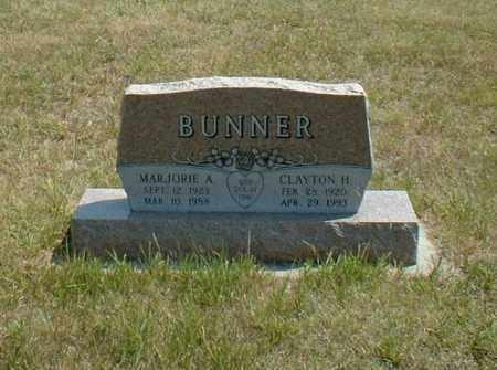 BUNNER, MARJORIE - Loup County, Nebraska | MARJORIE BUNNER - Nebraska Gravestone Photos