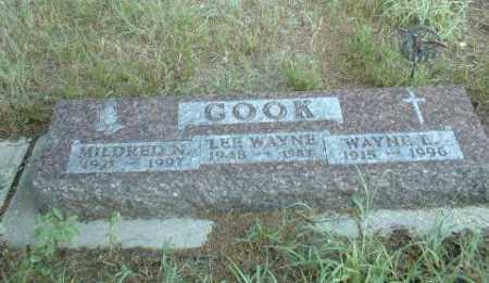 COOK, WAYNE - Loup County, Nebraska | WAYNE COOK - Nebraska Gravestone Photos