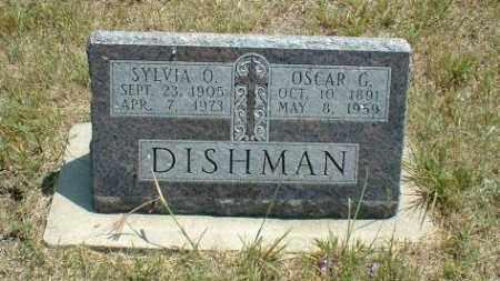 DISHMAN, SYLVIA - Loup County, Nebraska | SYLVIA DISHMAN - Nebraska Gravestone Photos