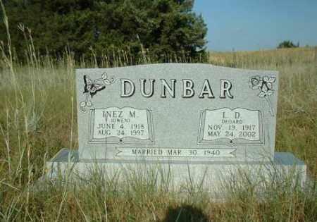 DUNBAR, L.D. - Loup County, Nebraska | L.D. DUNBAR - Nebraska Gravestone Photos